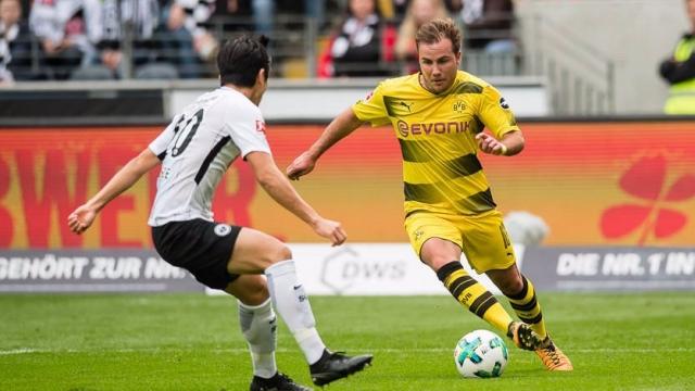 Frankfurt 2-2 Dortmund (Vòng 9 Bundesliga 2017/18)