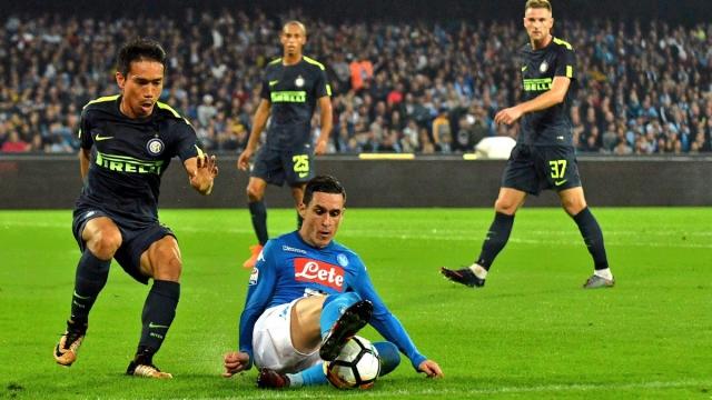 Napoli 0-0 Inter (Vòng 9 Serie A 2017/18)