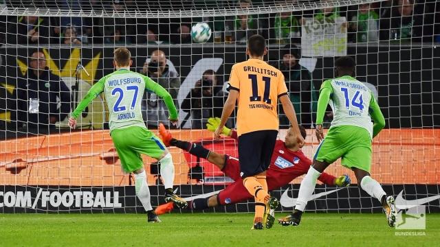 Wolfsburg 1-1 Hoffenheim (Vòng 9 Bundesliga 2017/18)