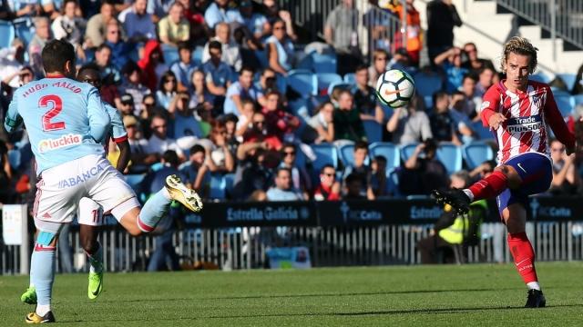 Celta Vigo 0-1 Atletico Madrid (Vòng 9 La Liga 2017/18)