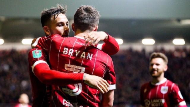 Bristol City 4-1 Crystal Palace (Cúp Liên đoàn Anh 2017/18)