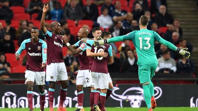 Tottenham 2-3 West Ham (Cúp Liên đoàn Anh 2017/18)