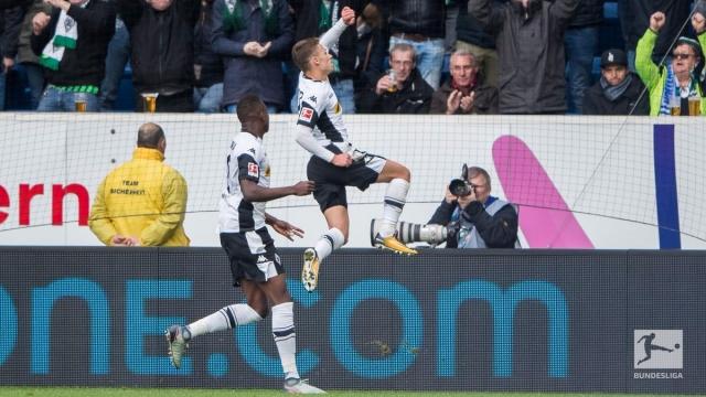 Hoffenheim 1-3 Borussia Moenchengladbach (Vòng 10 Bundesliga 2017/18)