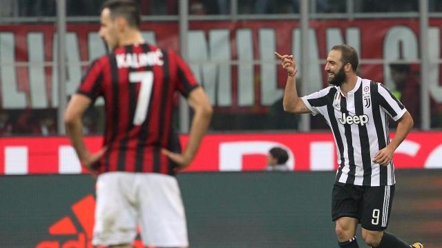 AC Milan 0-2 Juventus (Vòng 11 Serie A 2017/18)