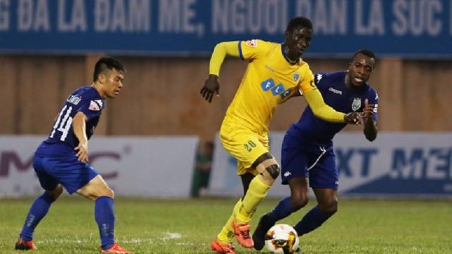 Thanh Hóa 1-1 Bình Dương (Vòng 24 V.League 2017)