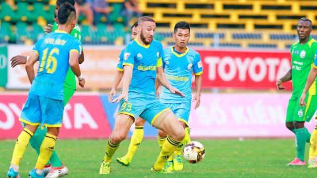 Cần Thơ 1-2 Khánh Hòa (Vòng 24 V.League 2017)