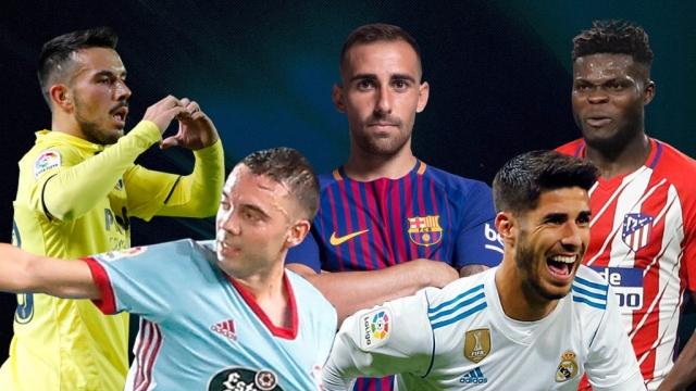 La Liga 2017/18: Top 5 bàn thắng đẹp nhất tháng 11