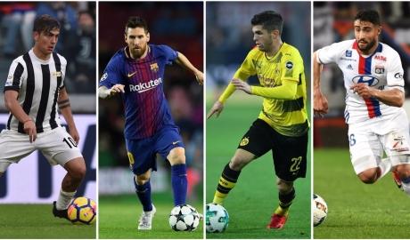 Top 10 vua đi bóng ở châu Âu mùa này: Messi bá đạo