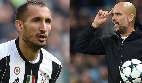 Chiellini chỉ trích Guardiola đang làm hỏng cả một thế hệ hậu vệ