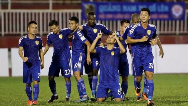 Quảng Nam 2-1 Quảng Ninh (Vòng 24 V.League 2017)