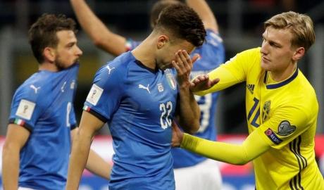 Hòa Thụy Điển, Italia lỡ hẹn với World Cup