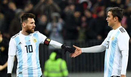 Dybala sẽ thế vai Messi ở ĐT Argentina