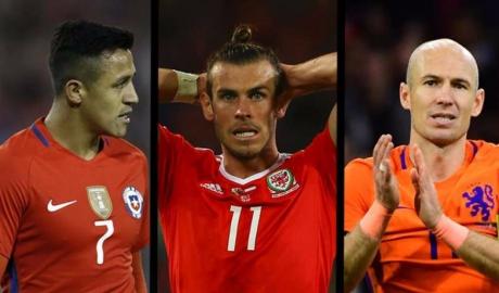 """Đội hình 11 """"sao bự"""" phải ngồi nhà xem World Cup 2018"""