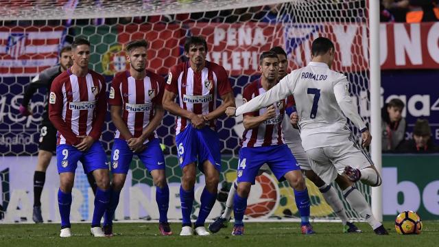 21 bàn thắng của Ronaldo ghi được vào lưới Atletico Madrid