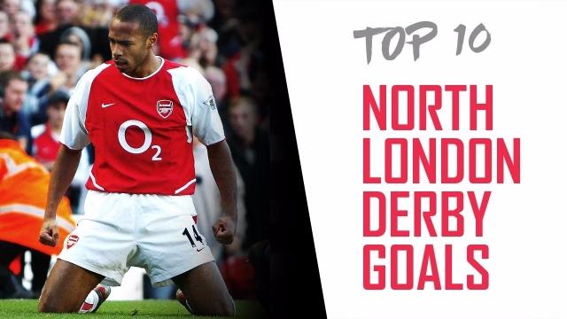 Top 10 bàn thắng đẹp nhất vào lưới Tottenham của Arsenal