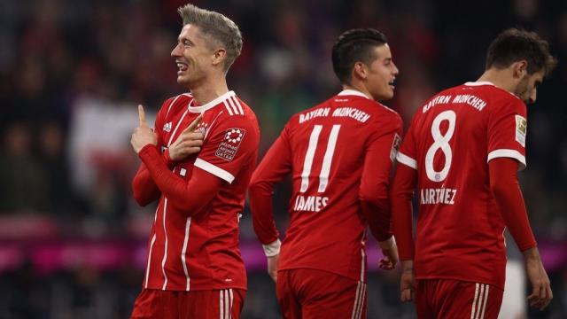 Bayern Munich 3-0 Augsburg (Vòng 12 Bundesliga 2017/18)