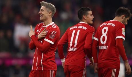 Trình làng tóc mới, Lewandowski giúp Bayern thắng trận thứ 8 liên tiếp