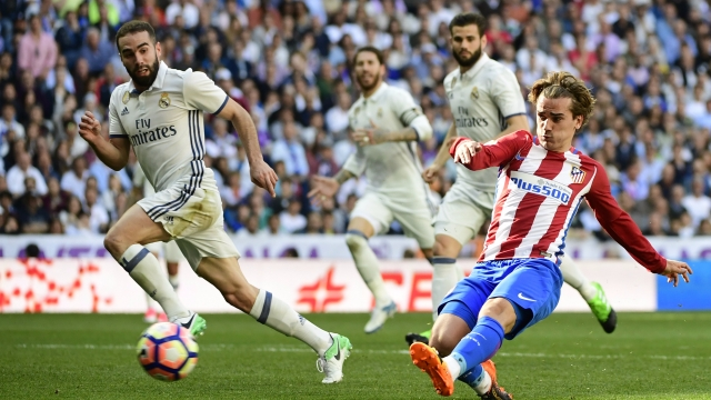 Atletico Madrid 0-0 Real Madrid (Vòng 12 La Liga 2017/18)