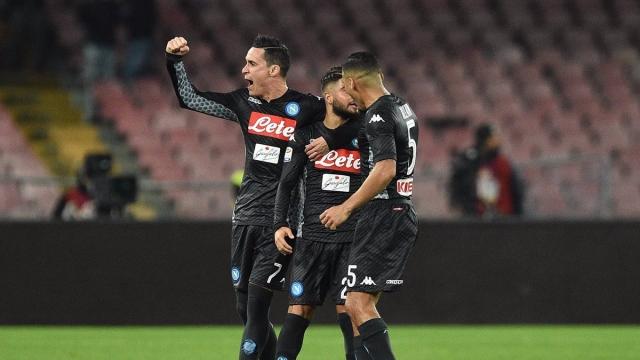 Napoli 2-1 AC Milan (Vòng 13 Serie A 2017/18)