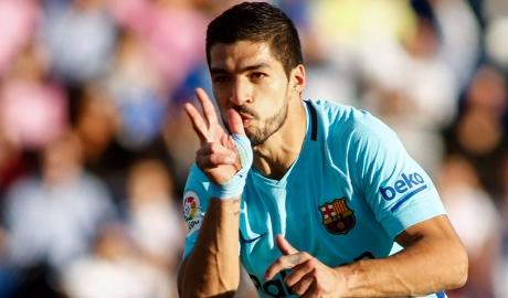 Răng thỏ trở lại, Barca vùi dập Leganes