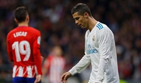 Ronaldo tịt ngòi, derby Madrid bất phân thắng bại