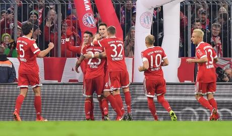 Bayern hơn đội nhì bảng 6 điểm: Bundesliga dưới chân Hùm