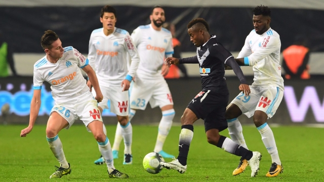 Bordeaux 1-1 Marseille (Vòng 13 Ligue 1 2017/18)