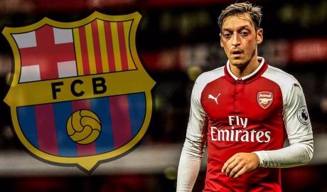 Barcelona hỏi mua Mesut Ozil, đề nghị đổi sao với Arsenal