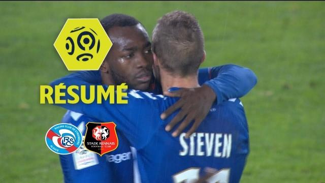 Strasbourg 2-1 Rennes (Vòng 13 Ligue 1 2017/18)