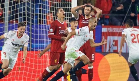 Juergen Klopp nuối tiếc sau trận hòa với Sevilla