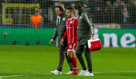 Bayern trả giá đắt vì chấn thương trong nỗ lực bám đuổi PSG