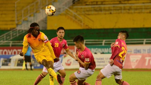 Sài Gòn 3-0 Hải Phòng (Vòng 26 V.League 2017)