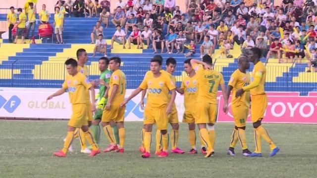 Sông Lam Nghệ An 0-1 FLC Thanh Hóa (Vòng 26 V.League 2017)