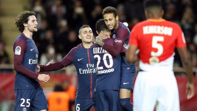 Monaco 1-2 PSG (Vòng 14 Ligue 1 2017/18)