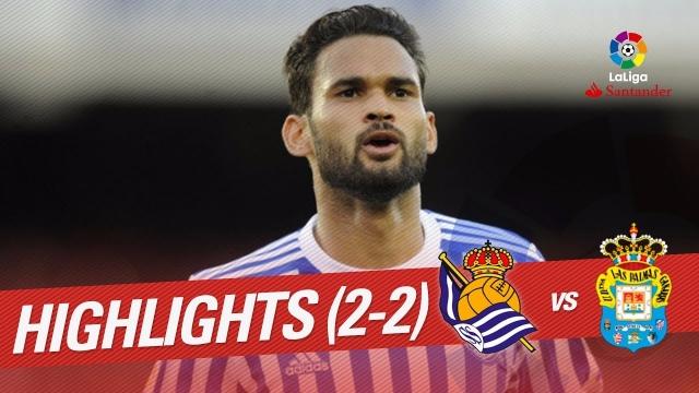 Real Sociedad 2-2 Las Palmas (Vòng 13 La Liga 2017/18)