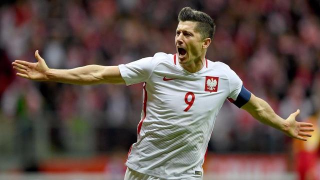 16 bàn thắng của Lewandowski tại VL World Cup 2018