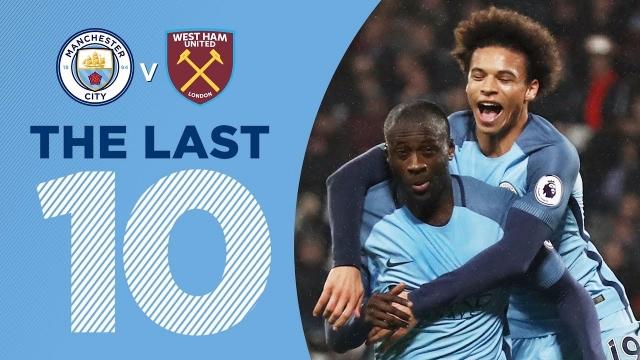 10 bàn thắng đẹp nhất của Man City vào lưới West Ham