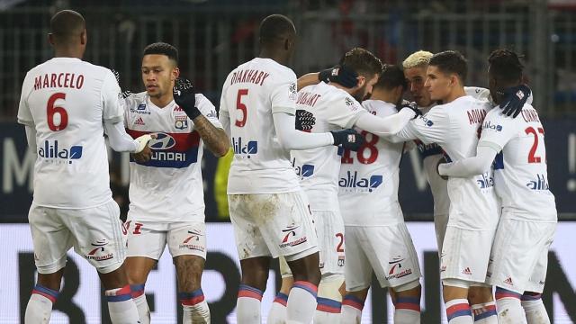 Caen 1-2 Lyon (Vòng 16 Ligue 1 2017/18)