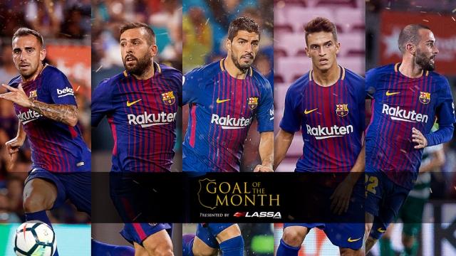 Top 5 bàn thắng đẹp nhất tháng 11/2017 của Barcelona
