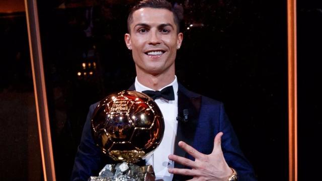 Hoạt hình vui về Ronaldo đoạt Quả Bóng Vàng 2017