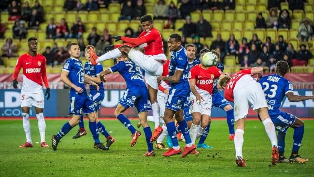 Monaco 3-2 Troyes (Vòng 17 Ligue 1 2017/18)