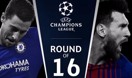 Real đụng độ PSG, Chelsea gặp Barca ngay vòng 1/8 Champions League