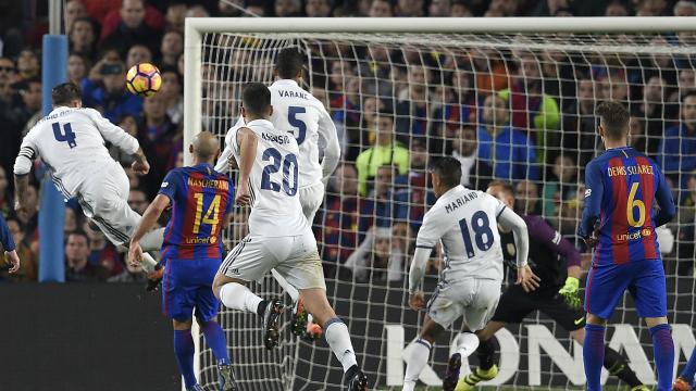 Top 5 pha đánh đầu thành bàn đẹp nhất tại các trận El Clasico