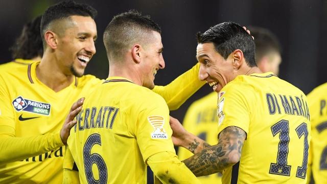 Strasbourg 2-4 PSG (Vòng 1/8 Cúp Liên đoàn Pháp 2017/18)