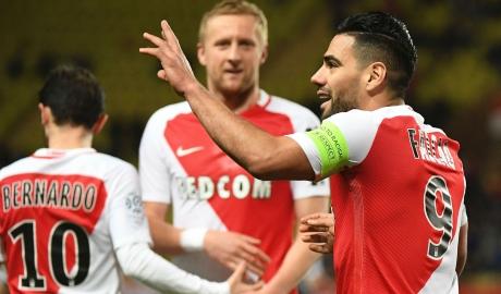 Monaco qua mặt Lyon để chiếm vị trí nhì bảng