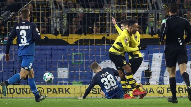 Dortmund 2-1 Hoffenheim (Vòng 17 Bundesliga 2017/18)
