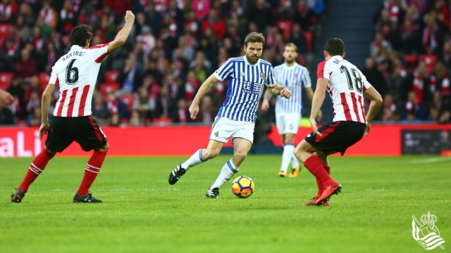 Athletic Bilbao 0-0 Real Sociedad (Vòng 16 La Liga 2017/18)