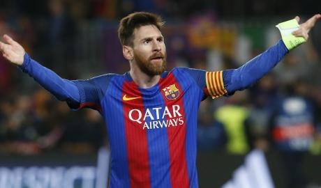 Messi lỡ cơ hội dẫn đầu danh sách vua dội bom năm 2017