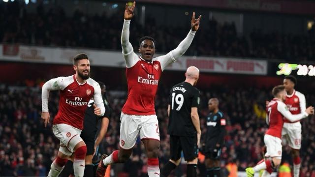 Arsenal 1-0 West Ham (Tứ kết Cúp Liên đoàn Anh 2017/18)