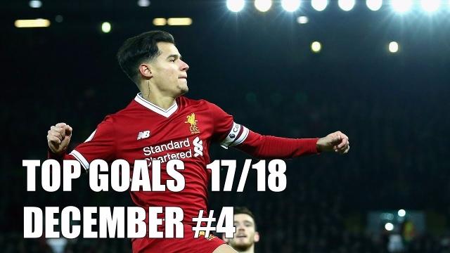 Top bàn thắng đẹp nhất tháng 12/2017